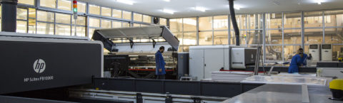 We have one of the most comprehensive track machine system of Turkey with high tech printing machines.